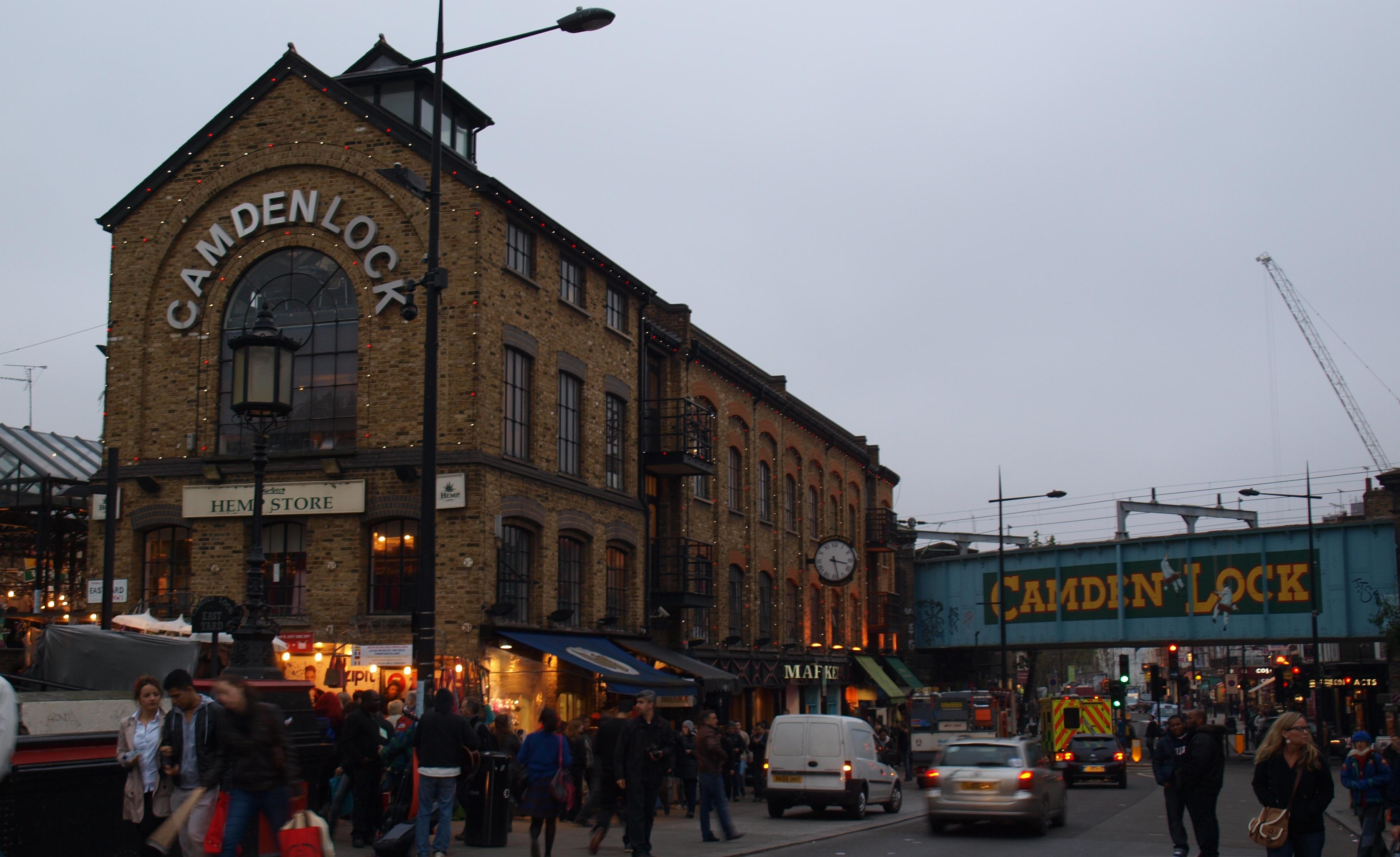 Camden Town, un barrio... Amy Winehouse