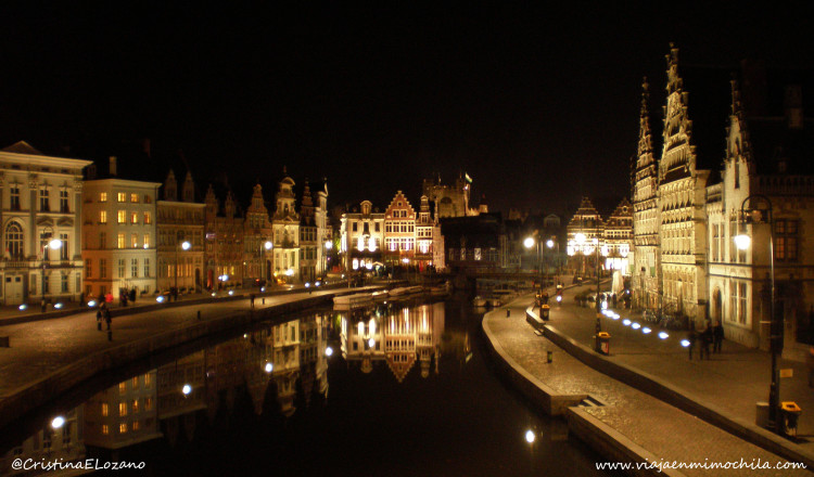 Graslei, Gante (Bélgica)