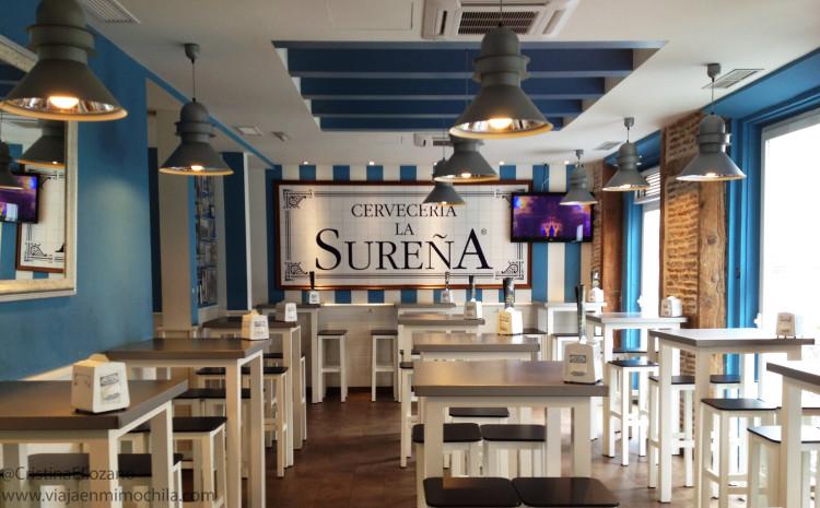 La Sureña. Cerveza desde 0,60 euros