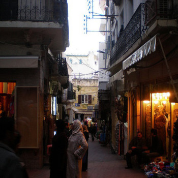 Zoco, Tánger (Marruecos, África)
