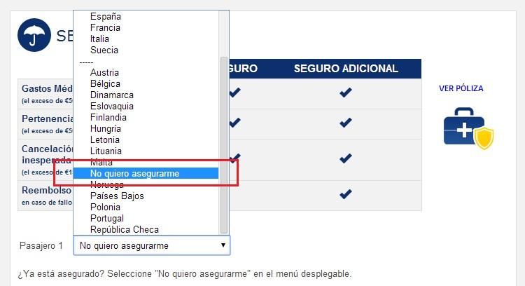 Cómo comprar un billete de avión en la página web de Ryanair sin pagar de más