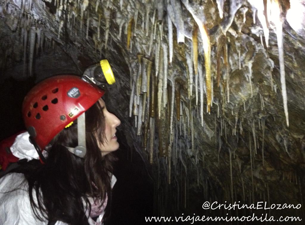Aventura Cueva El Soplao, comarca Saja-Nansa, Cantabria