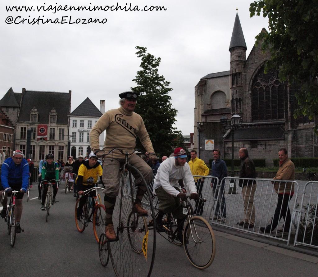 Retro Ronde 2012. Oudenaarde (Flandes, Bélgica)