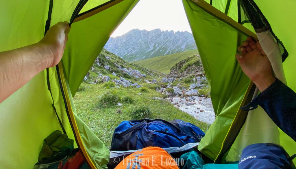 acampada Picos de Europa