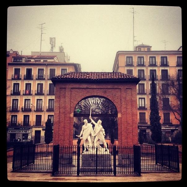 Plaza del Dos de Mayo, Madrid (España)