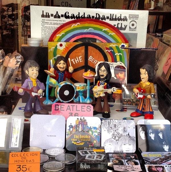 The Beatles en Madrid (España)