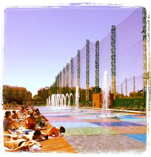 Parque de Santander - Canal de Isabel II. Madrid (España)