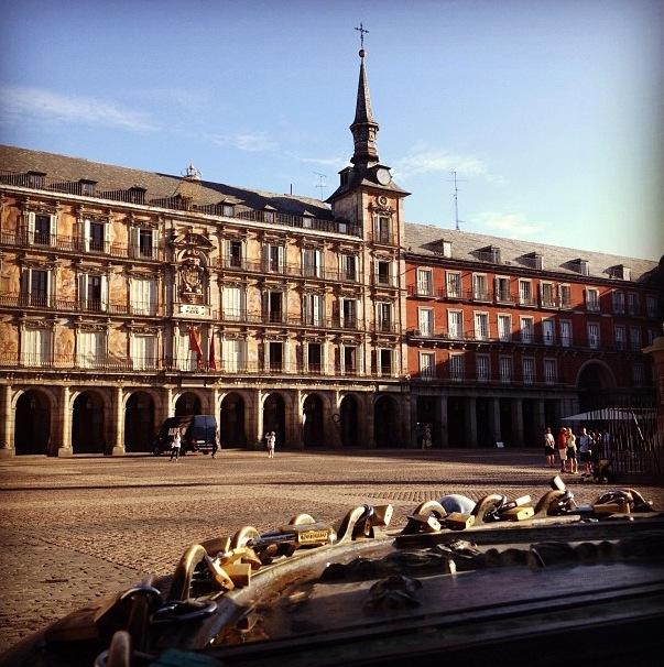 Plaza Mayor de Madrid (España)