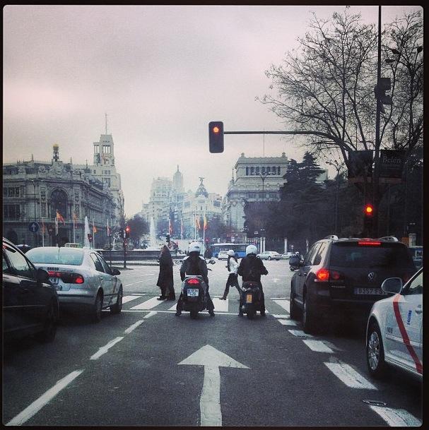 Plaza de Cibeles, Madrid (España)
