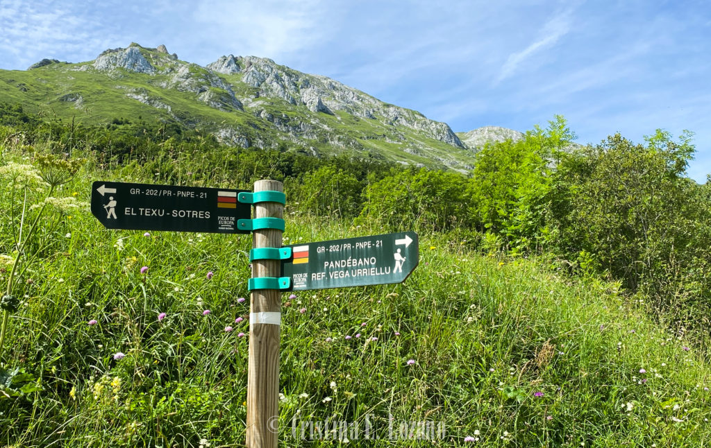 senderismo Picos de Europa