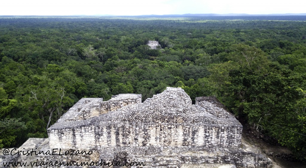 Ruinas mayas de Calackmul, Campeche (México)