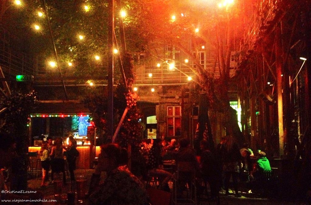 Fogazhas, un bar de ruina en Budapest