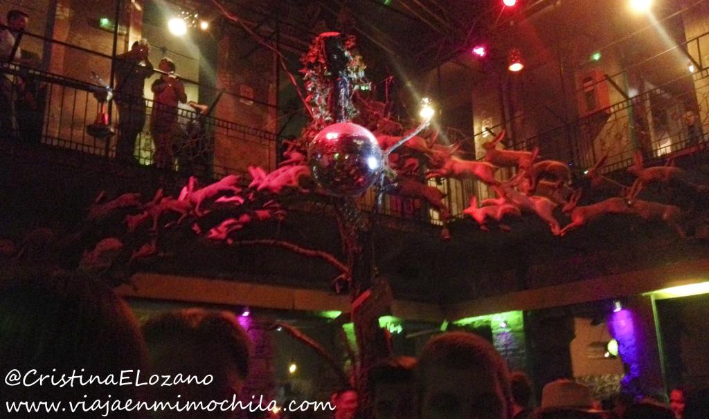 Instan, un bar de ruina en Budapest (Hungría)