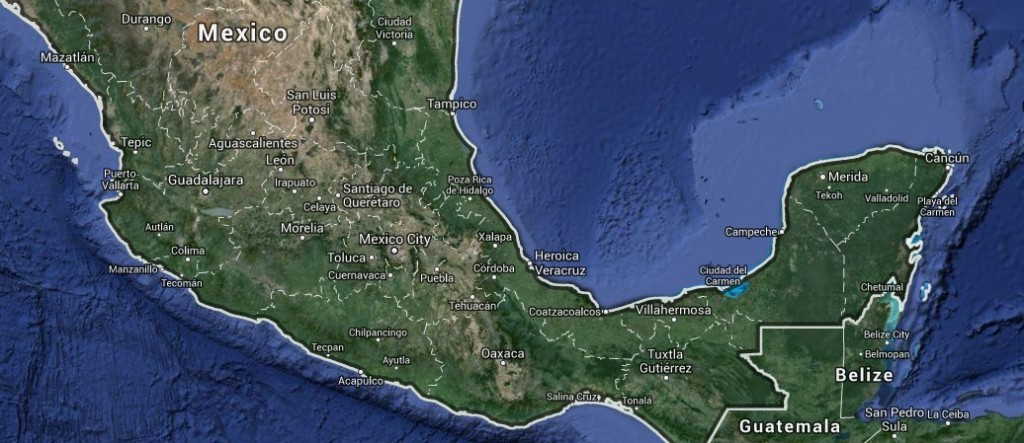 Mapa de México - Google
