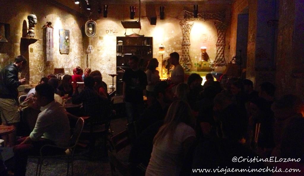 Szimpla Kert, el bar de ruina más famoso de Budapest (Hungría)