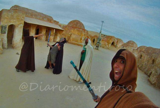 Tatooine. Desierto del Sahara (Tunez - Foto: @DiarioMentiroso