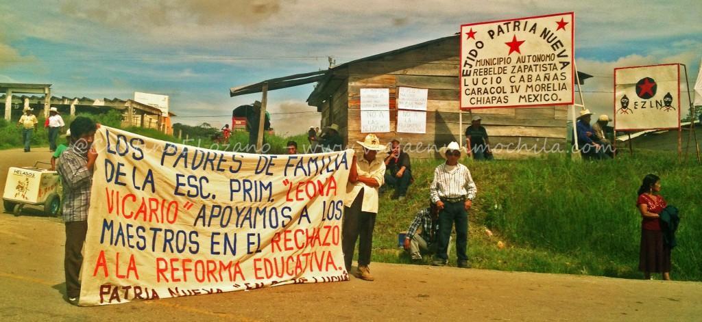 Ejército Zapatista de Libreación Nacional (EZNL), Chiapas (México)