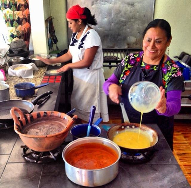 Desayuno en la Nostalgia de Xalapa - México