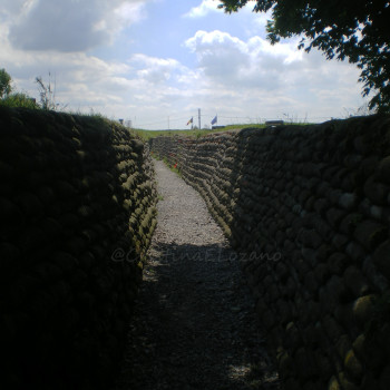 Dondengang o Trinchera de la Muerte, Diksmuide, Flandes, Bélgica