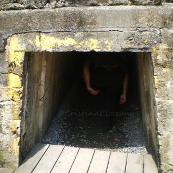 Tunel de la Dondengang o Trinchera de la Muerte, Diksmuide, Flandes, Bélgica