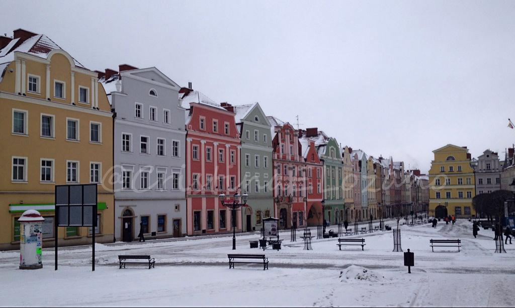 Rynek Glowny de Boleslawiec, Baja Silesia (Polonia)