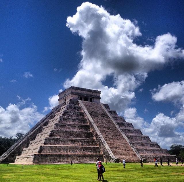 Yacimiento arqueológico de Chichén Itza, Yucatán (México)