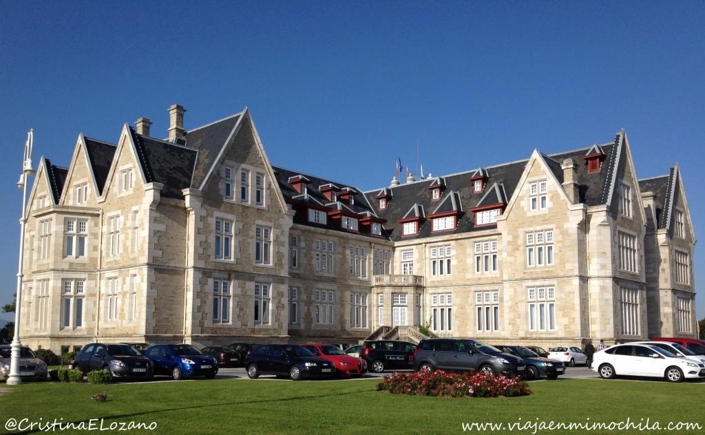 Exterior del Palacio de la Magdalena. Santander, Cantabria