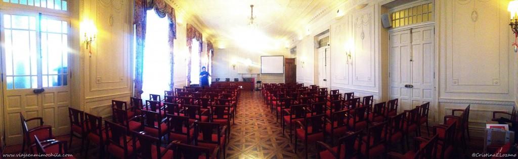 Salón de Baile. Palacio de la Magdalena por dentro. Santander, Cantabria
