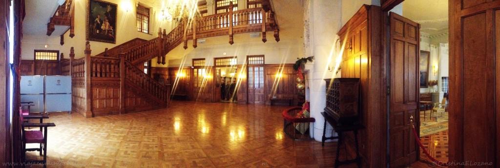 Palacio de la Magdalena por dentro. Santander, Cantabria
