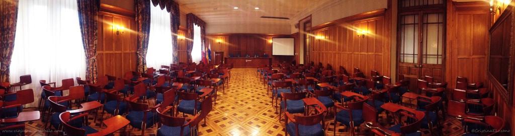 Salón Rinacho. Palacio de la Magdalena por dentro. Santander, Cantabria