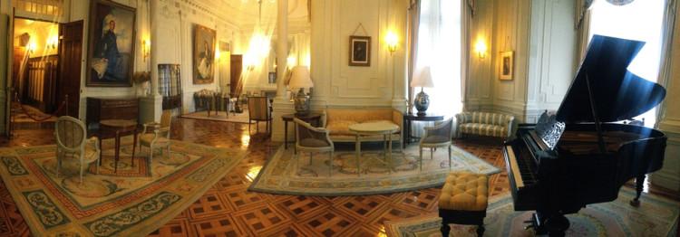 Salón de Familia del Palacio de la Magdalena. Santander, Cantabria