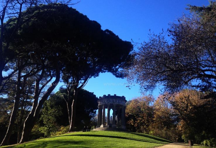 Templo de Baco, parque El Capricho, Madrid (España)