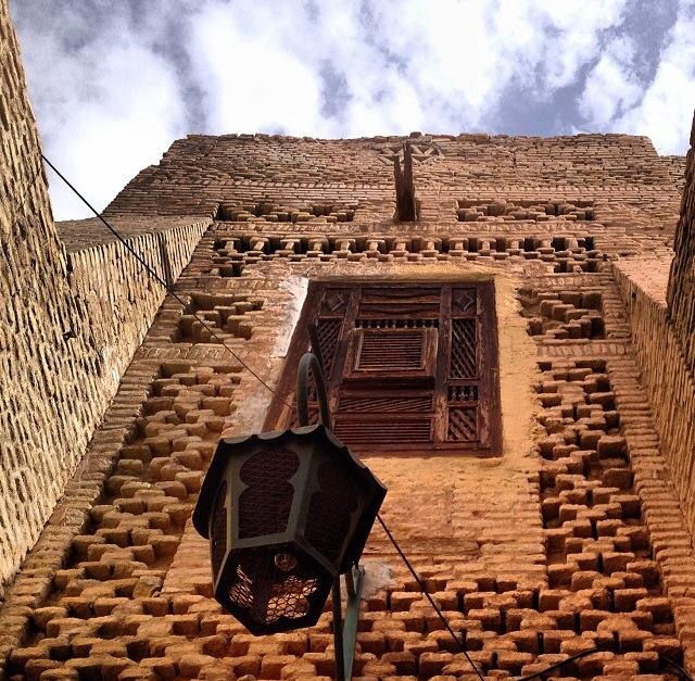 Ciudad oasis de Tozeur, de estilo mudéjar (Túnez)