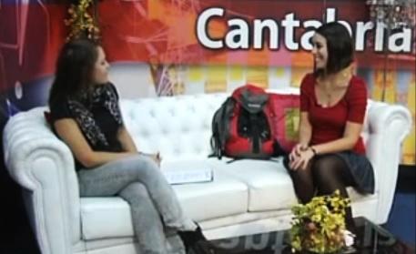 Viaja en mi Mochila TV. Plató de Cantabria por la Mañana