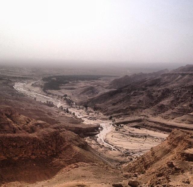 Cañón de Tamerza, visión marciana (Túnez)