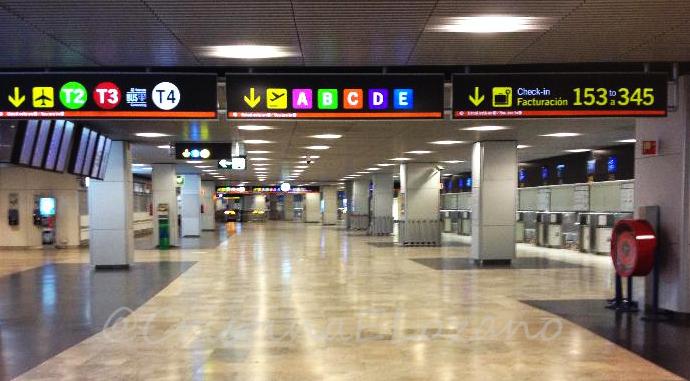 T1 Aeropuerto de Barajas, Madrid (España)