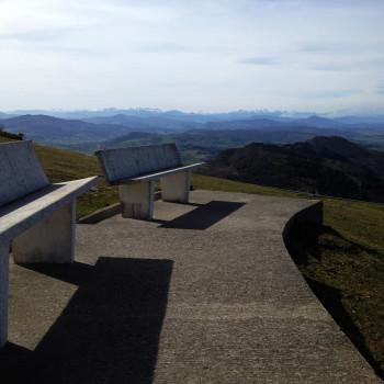 Vistas desde el Merenedro de Peña Cabarga (Cantabria)