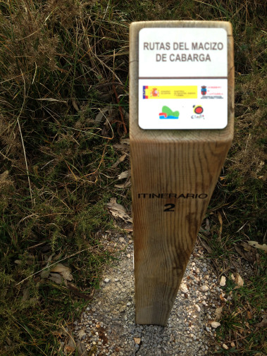 Estado de los itinerarios de Peña Cabarga, comienzo (Cantabria)