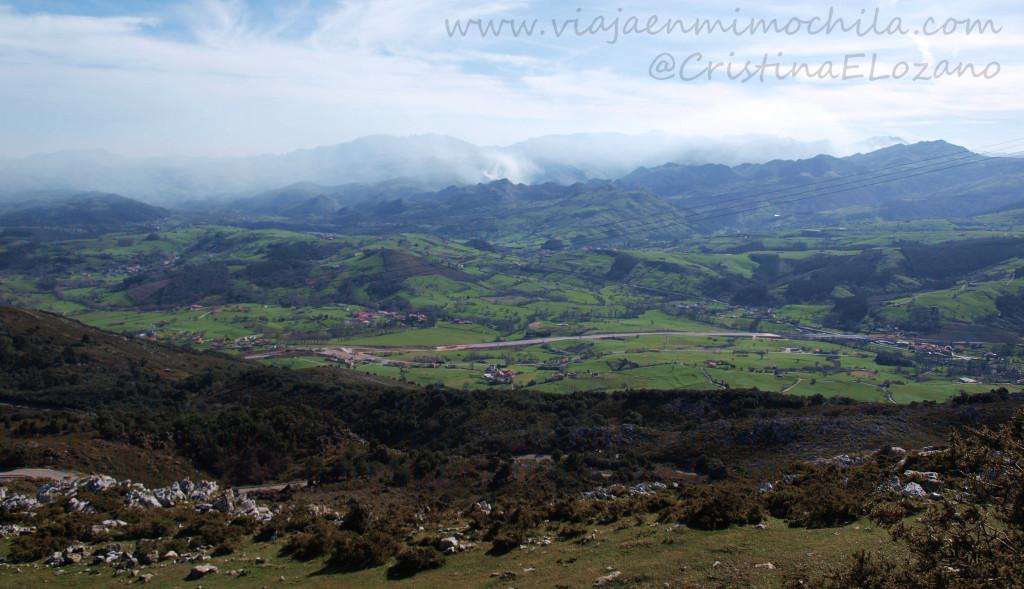 Mirador sur de Peña Cabarga (Cantabria)