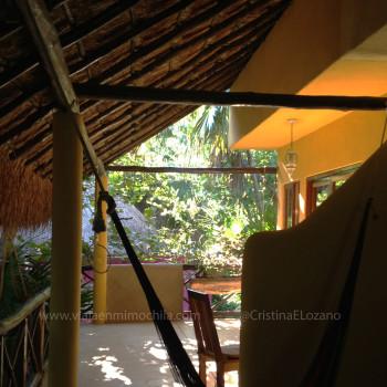 Hamacas de la Posada Ecológica Dos Ceibas (Tulúm. Quintana Roo, México)