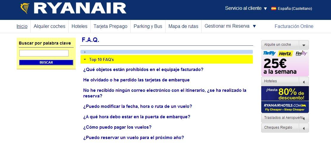 feb02aad812 Cómo comprar un billete de avión en la página web de Ryanair sin pagar de  más