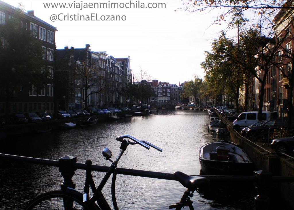 Canales de Amsterdam (Holanda, Países Bajos)