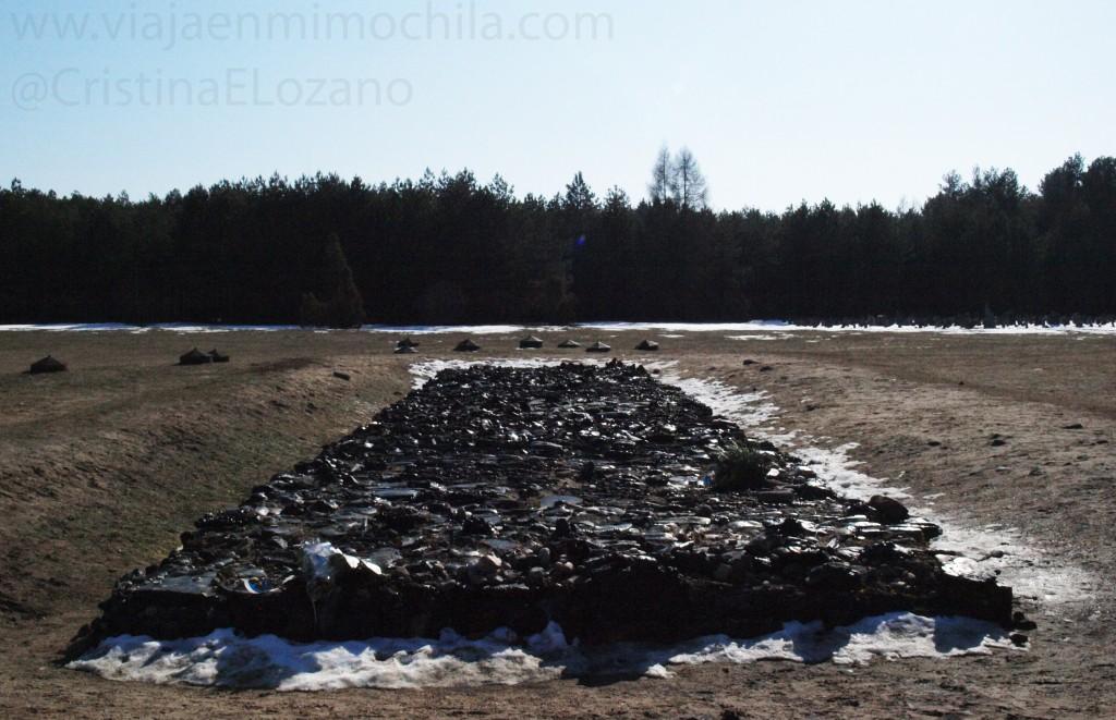 Lugar de cremación del Campo de exterminio de Treblinka