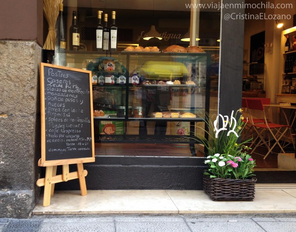 Panadería La Antigua Boutique del Pan. Santander (Cantabria)