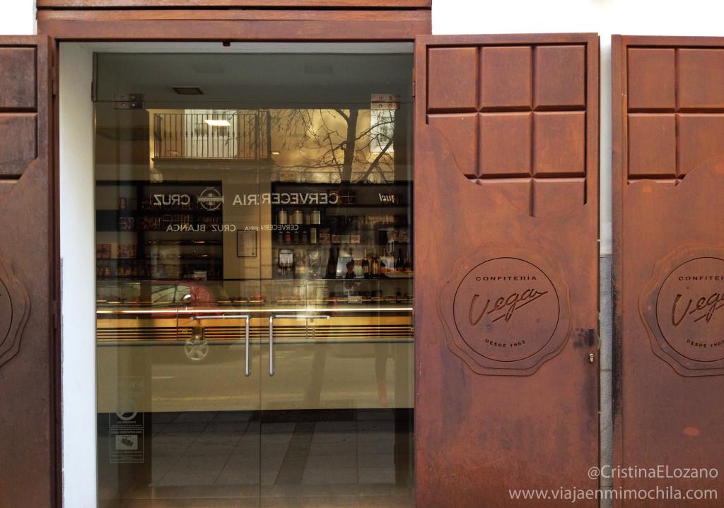 Pueras de chocolate de la Confitería Vega. Santander (Cantabria)
