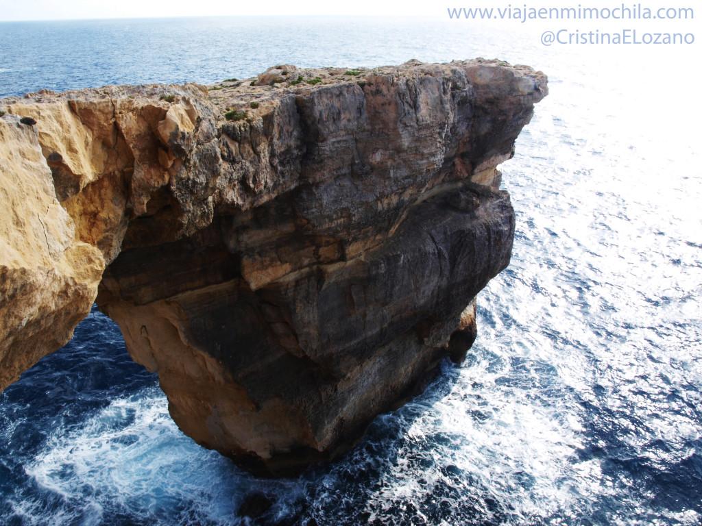 Picado de la Azure Window (Gozo, Malta)