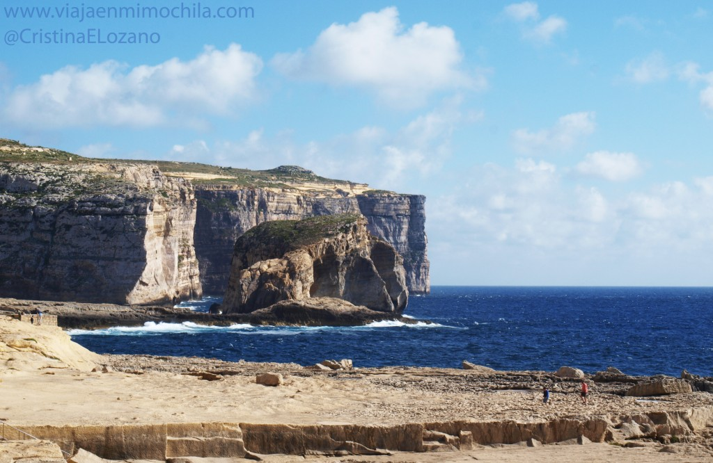 Fungus Rock (Gozo, Malta)