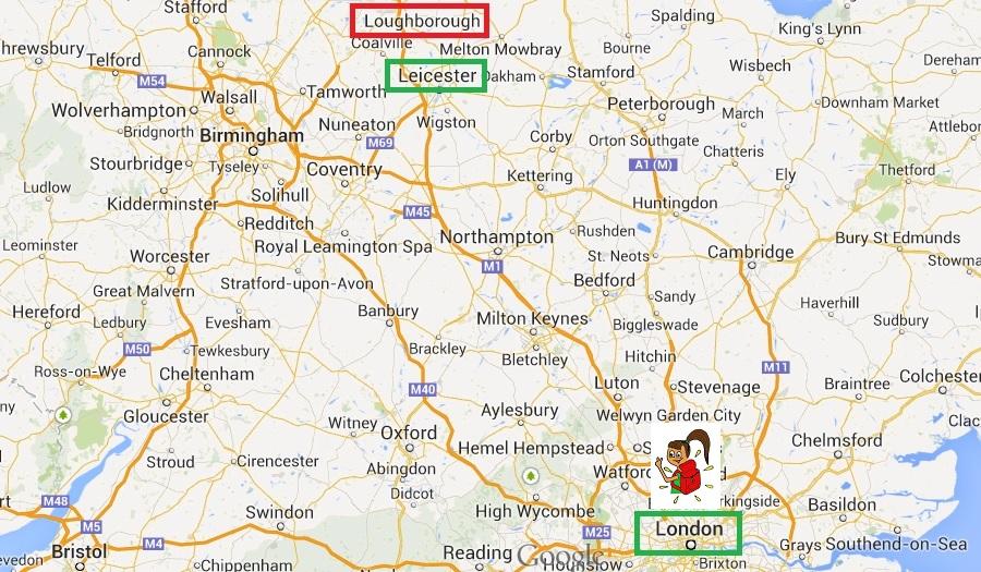 Mapa Londres - Lufbra