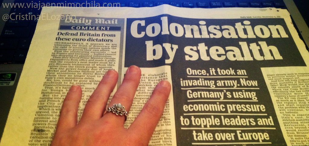 The Daily Mail. Periódicos de Inglaterra (UK)