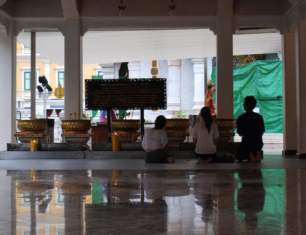 Detalle templo de Bangkok (Tailandia)